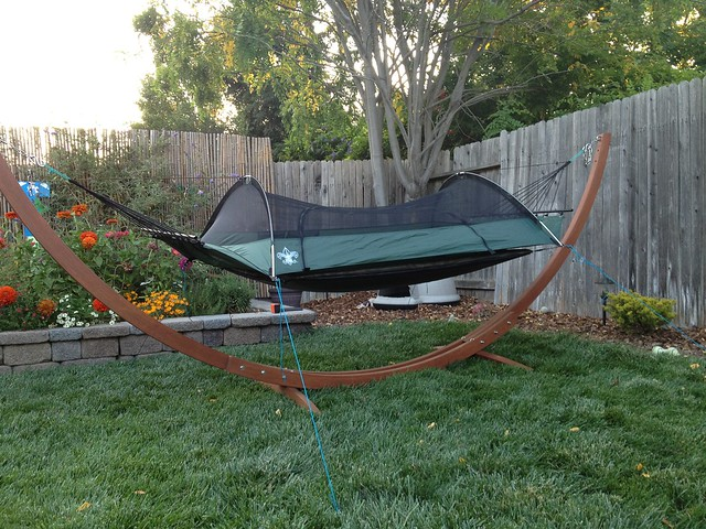 i was inspired by the jungle hammock design with an integrated tarp  i used 3 or 4 of the harbor freight poles on either end of my bridge hammock  my  6 diy superfly pole mod   page 2  rh   hammockforums