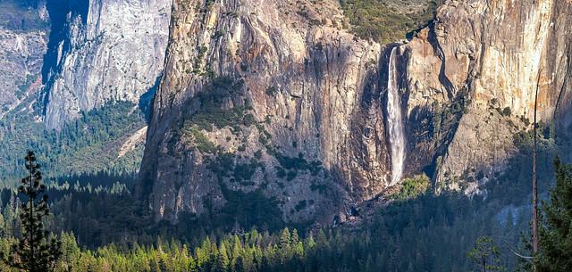Bridal Veil Falls- Yosemite National Park.