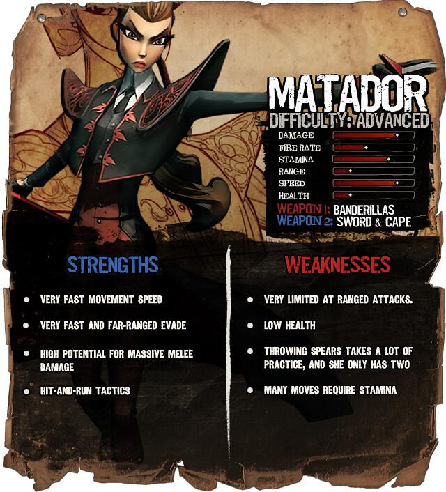 Secret Ponchos: Matador