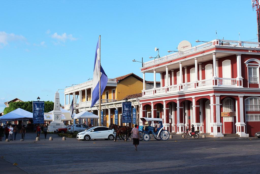 Granada square flag