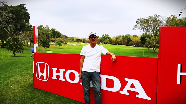 at  hole 18 of SIAM CC Old Course HONDA LPGA