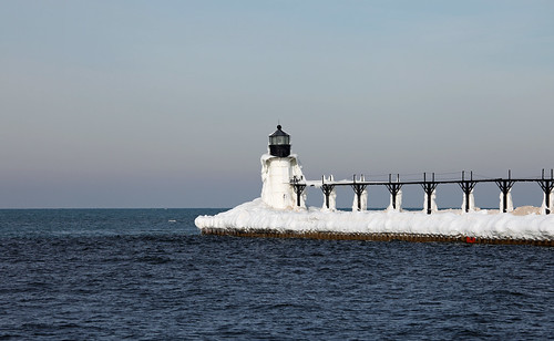 St. Joseph North Pier Outer Lighthouse