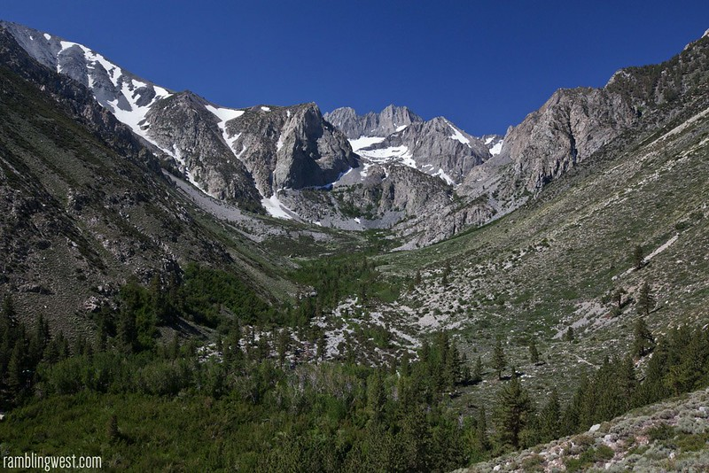 View down South Fork