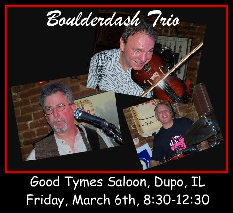 Boulderdash Trio 3-6-15