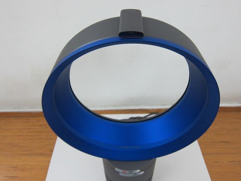 Dyson AM06 Desk Fan 25cm (Iron & Blue) - With Remote