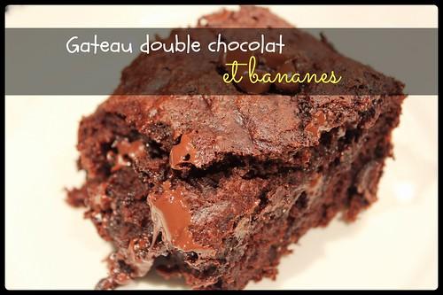 gâteau double chocolat bananes 00