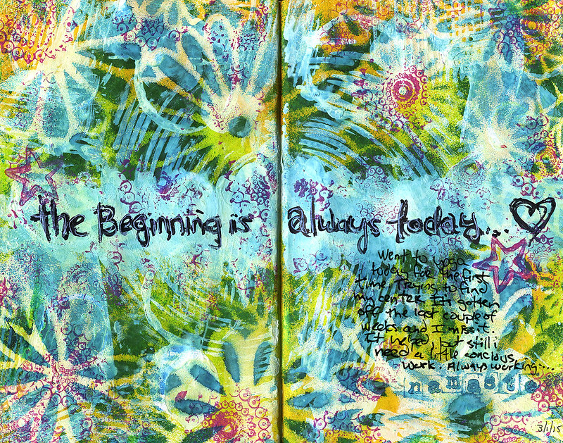 DLP Art Journal - Beginning