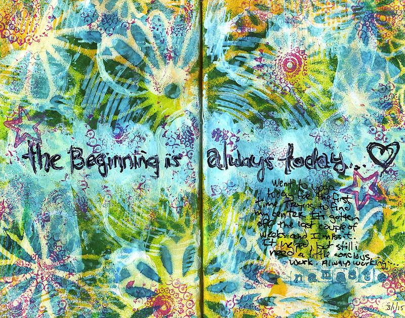 DLP Art Journal - Beginning