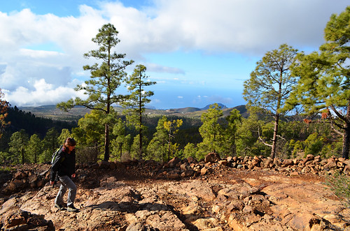 Walking in the southern hills, Vilaflor, Tenerife