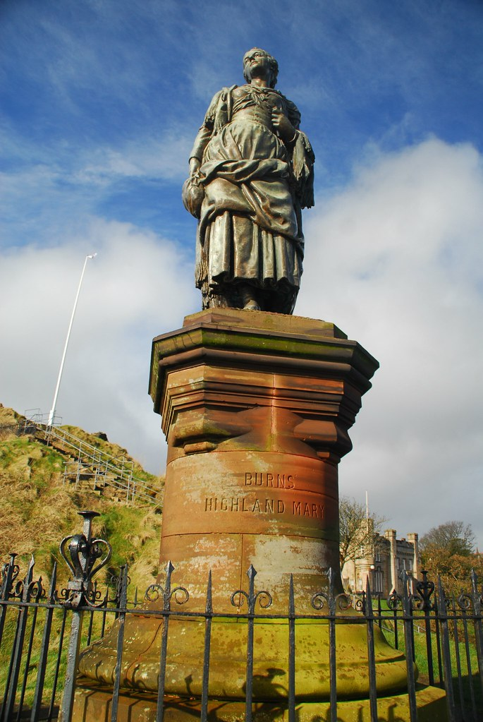 Robert Burns Highland Mary at Dunoon