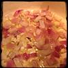 Cucina Dello Zio #homemade #Minestrone Soup #CucinaDelloZio - sauté onions & garlic