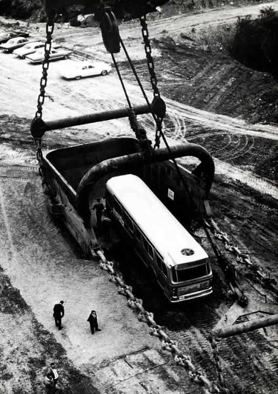 В ковш Big Muskie помещался огромный автобус
