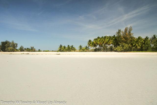 Indonesia - Sumba - Waingapu - Pantai Walakiri (Beach) - 09 - white beach
