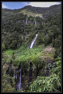Voile de la mariée Falls, Réunion Island [FR]
