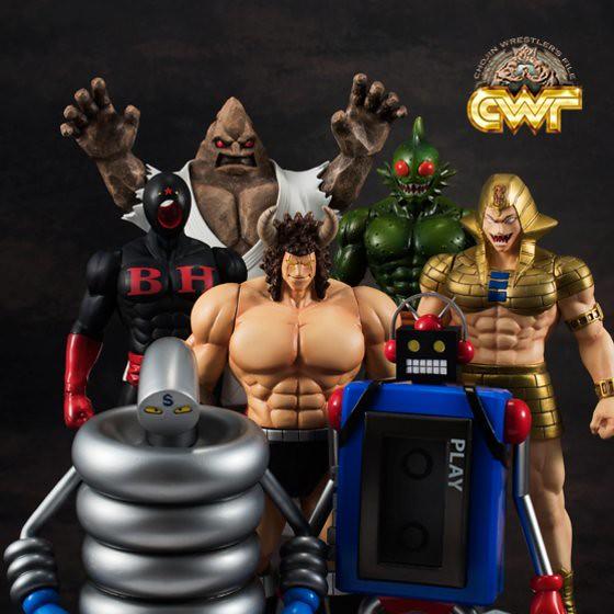 金肉人全新收藏系列『摔角超人檔案』第一彈「惡魔七超人」
