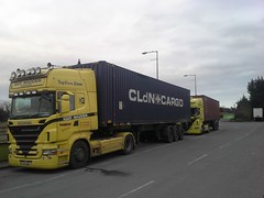 A pair of Iggy Madden trucks - resting at Mother Hubbards, Moyvalley, Co. Kildare, Ireland