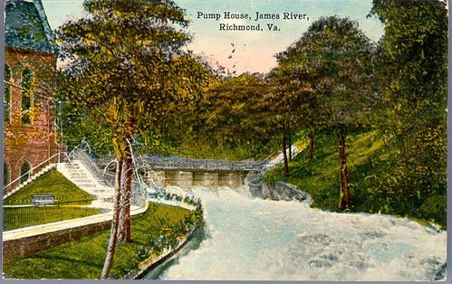 Pump House, James River, Richmond, Va.