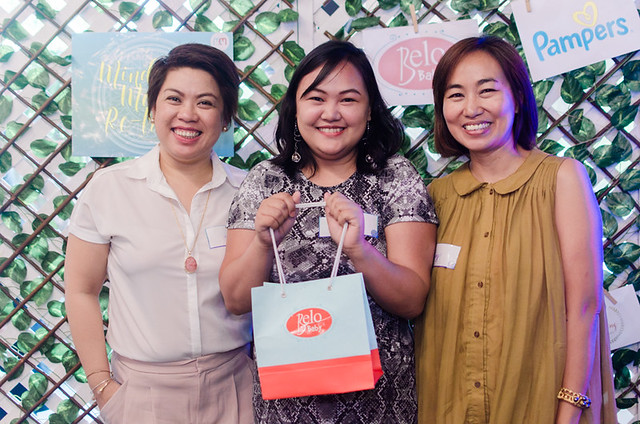 Mindful Mom Re-Treat participant wins a gift from Belo Baby