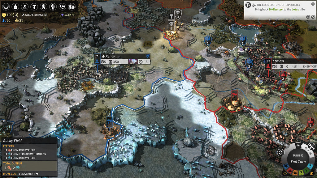 Endless Legend Mapa