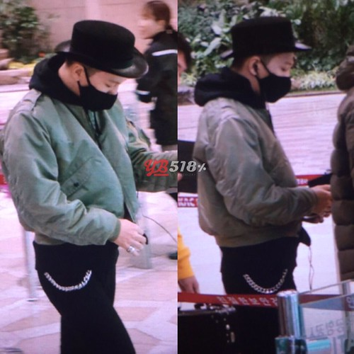Big Bang - Gimpo Airport - 27feb2015 - Tae Yang - YB 518 - 02