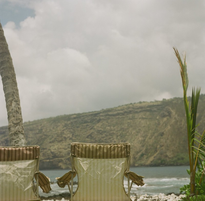 kealakekua bay, hawaii. yachica mat TLR. #film, #120, #medium format,