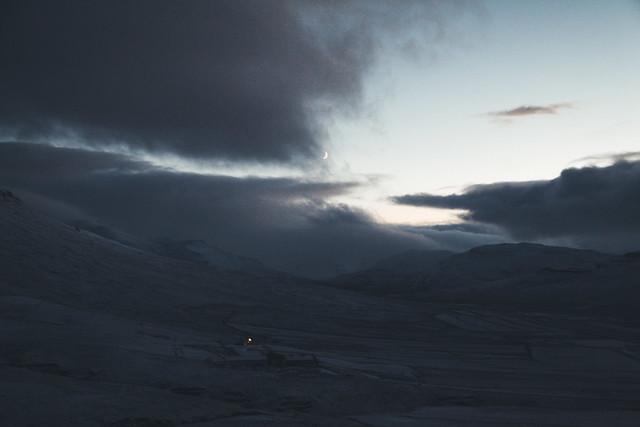 Nightfall at Kolsstaðir
