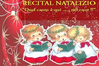 Parchitello. Recital natalizio front
