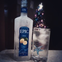 #vodka is the reason for the season. Merry Christmas! #paleococktails ;) P.S. this vodka kinda sucks. Sale wasn't worth it.