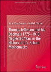 Thomas Jefferson and his Decimals