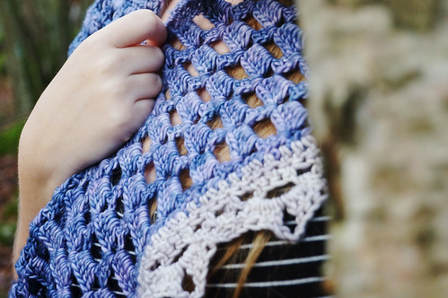 Fyra crochet charity cowl