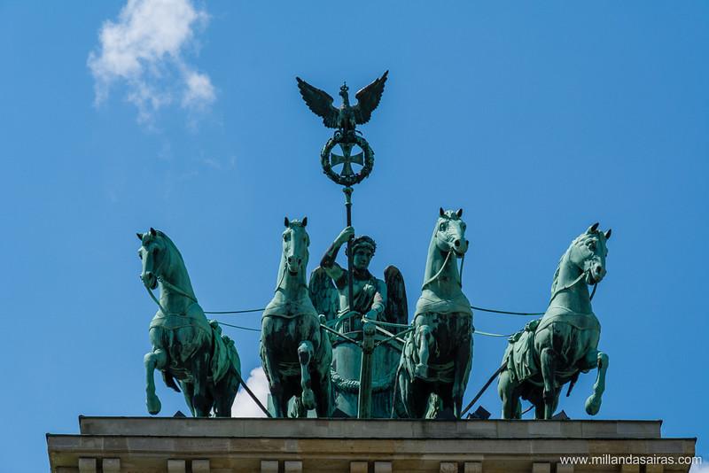 Cuadriga de la diosa Victoria sobre la Puerta de Brandenburgo