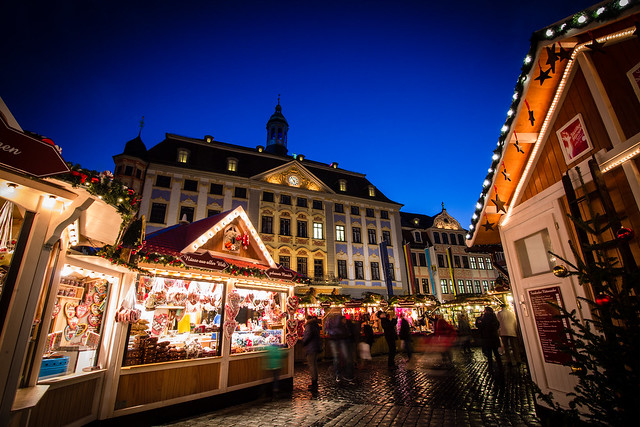 Coburg Christmas Market in Germany
