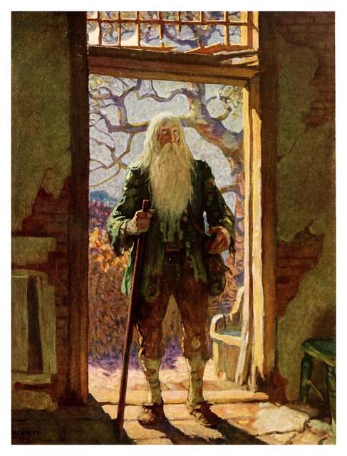 013-Rip Van Winkle-1921- ilustrado por NC Wyeth