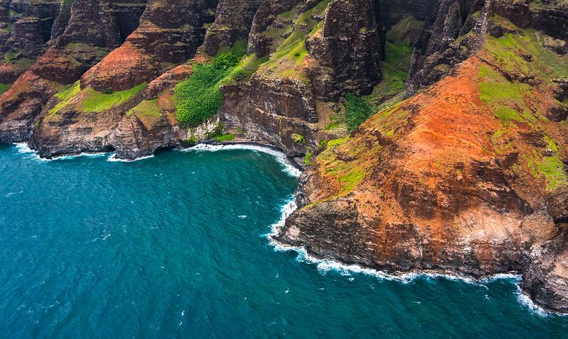 Na Pali Coastline, Kauai, Hawaii