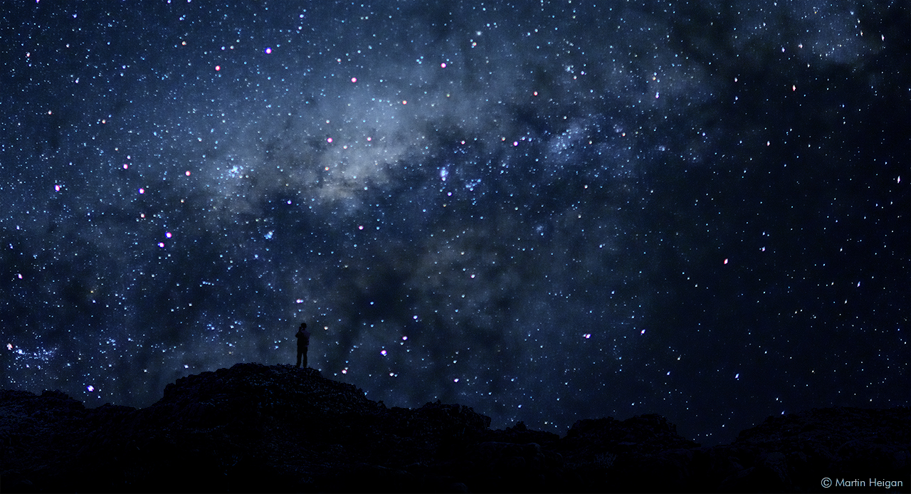 The Milky Way and me