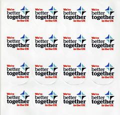 Better Together sticker sheet.  2014