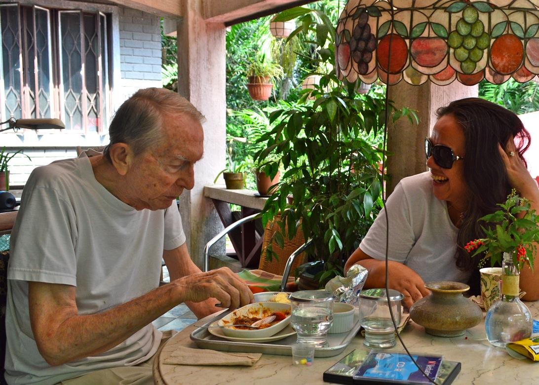 Frühstück mit meinem alten Mann