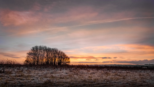 winter weather sunrise landscape countryside flickr olympus hampshire omd lightroom tumulus m43 mft em5 lr5 microfourthirds 918mm mzuiko