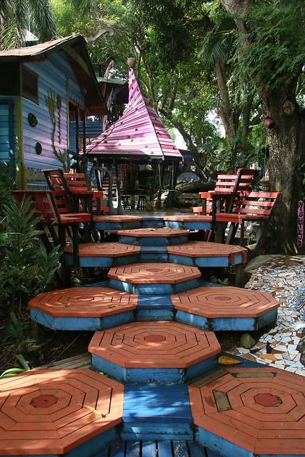 Treetantic.  Utila, Honduras.