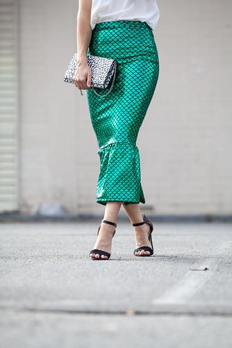 Jessica Reeves mermaid skirt