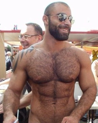 Hunky Pornstar Muscle Man Austin Wilde