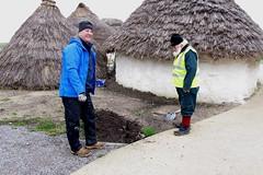 Neolithic Houses - new soak away