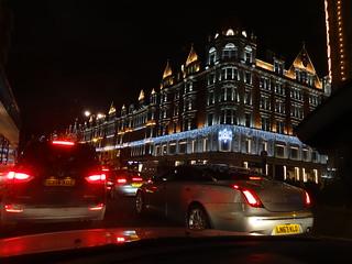 Central London, December night