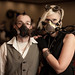 Lightkeeper's Ball - Gas Mask Couple by David R Preston Photography