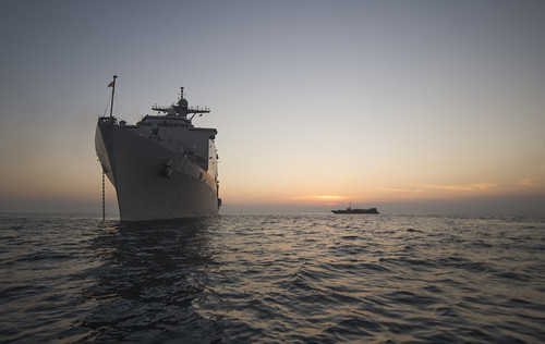 SEPANGGAR, Malaysia (NNS) -- The amphibious dock landing ship USS Comstock (LSD 45) and the embarked 11th Marine Expeditionary Unit arrived in Sepanggar, Malaysia, for a port visit.