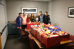 Thanksgiving Baskets- Officers