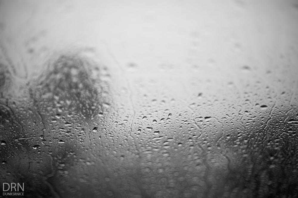 Rain B&W.