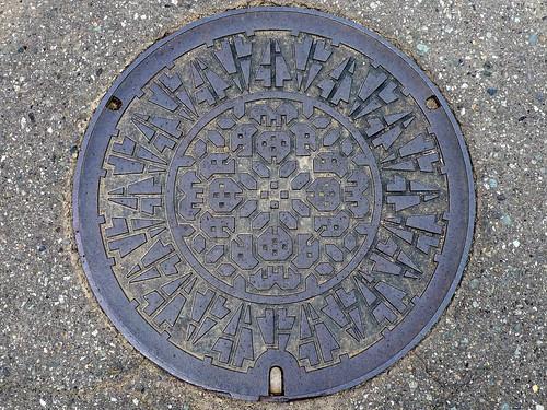 Miyama Fukui, manhole cover (福井県美山町のマンホール)