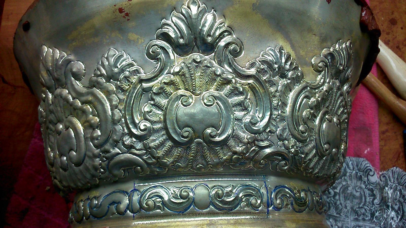 Corona Virgen de los Dolores. Villanueva de la Sierra.