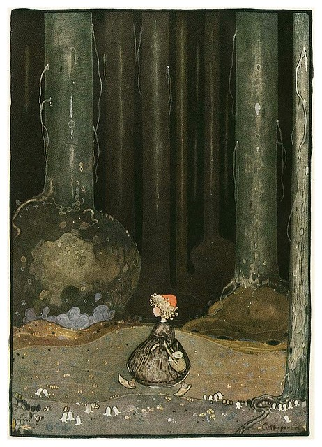 001-Grimm's Fairytale Treasure-1923- Illust. Gustaf Tenggren-via Animation Resources